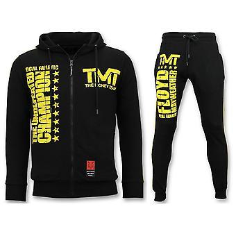 بدلة رياضية - مجموعة TMT فلويد مايويذر - أسود