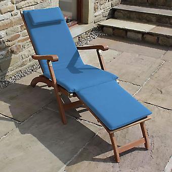 Trueshopping 3 Section Cushion pour Steamer Sun Lounger