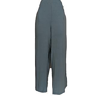 Anybody Women's Pants Cozy Knit Wide Leg Blue A347172
