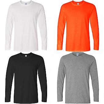 Gildan Mens Soft Style Long Sleeve T-Shirt