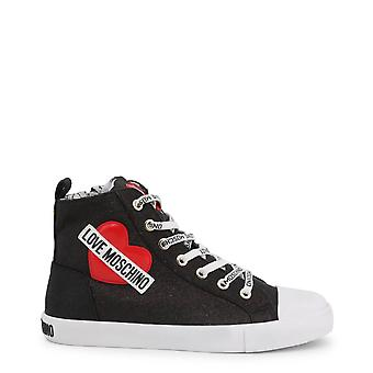 Love Moschino Original Women Fall/Winter Sneakers - Black Color 37165