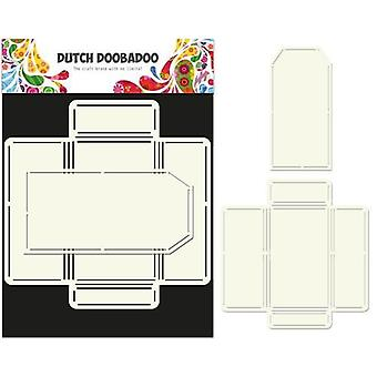 Hollanti Doobadoo Hollanti Envelop Art Kirjekuori + tag A4 470.713.030