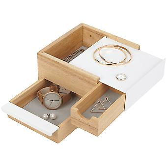 Umbra Mini Stowit Jewellery Box Natural