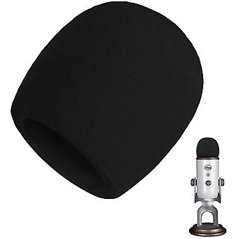 REYTID Replacement Windscreen Foam Microphone Wind Cover Compatible with Blue Yeti Microphones