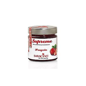 Saracino Strawberry Concentrated Food Fllavour - 200g - Single