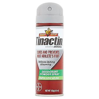 Tinactin antifungal aerosol deodorant powder spray, value size, 4.6 oz