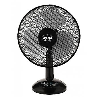 Desk Fan - Stratos B 306 Black by DEKO