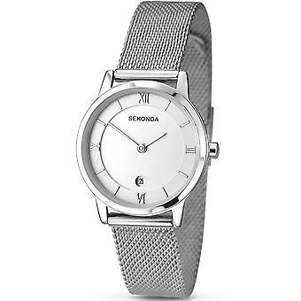 Sekonda Ladies Stainless Steel Mesh Bracelet Watch 2101