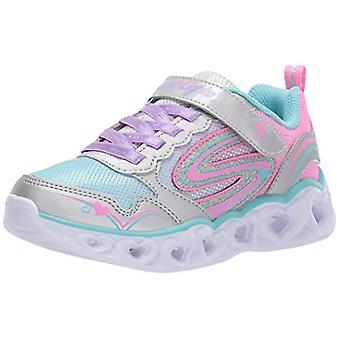 Skechers Kids ' inima lumini-Love Spark Sneaker