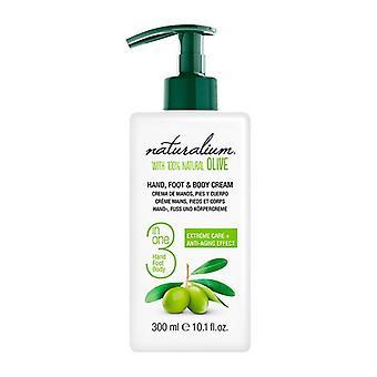 Moisturising Body Cream Oliva 100% Naturalium