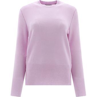 Equipment 195006109sw01374 Women's Purple Cashmere Sweater