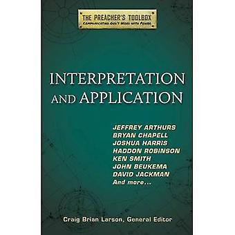 Interpretation and Application by Craig Brian Larson - 9781598569599
