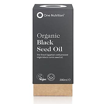 One Nutrition Organic Black Seed Oil 200ml (ONE038)