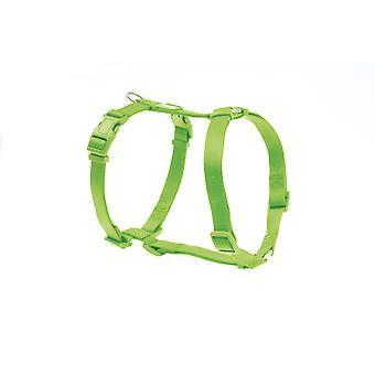 Freedog Basic Nylon seldon limegrön (hundar, kragar, Leads och selar, seldon)
