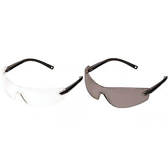 Portwest Profile Safety Spectacle (PW34) / Glasses / Workwear / Safetywear (Pack of 2)