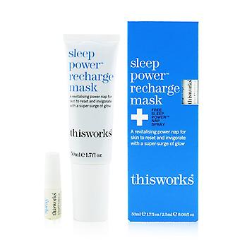 Sleep Power Recharge Mask - 50ml/1.7oz