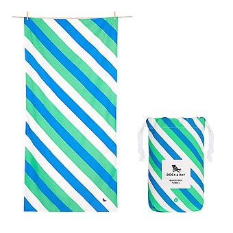 Dock & bay quick dry beach towel - sway - pacific tide