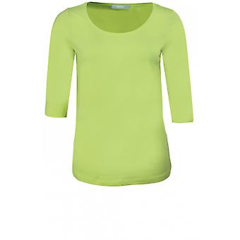 Bianca Lime Green Jersey Top