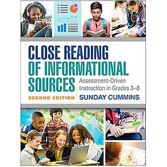 Close Reading of Informational Sources - Second Edition - Assessment-D