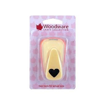 Woodware Heart Punch-säännöllinen-n. 15mm