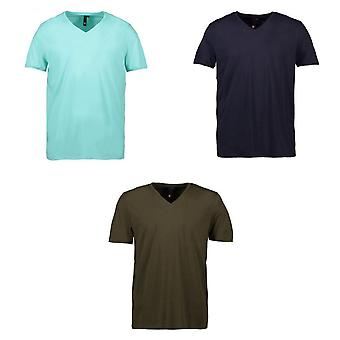 ID Mens Core V-Neck Fitted T-Shirt