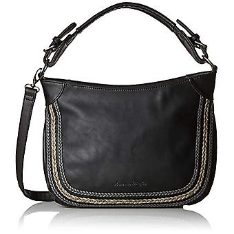 Fritzi aus Preussen GABI Black Women's shoulder bag (Black 1/Wales)) 10.5x25x30 cm (B x H x T)