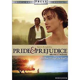 Pride & Prejudice (2005) [DVD] USA import