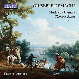 Demachi / Trigono Armonico Ensemble - Chamber Music [CD] USA import