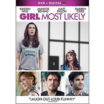Flicka troligen [DVD] USA import