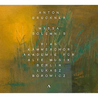 Bruckner / Harmsen / Mittelhammer - Missa Solemnis [CD] USA import