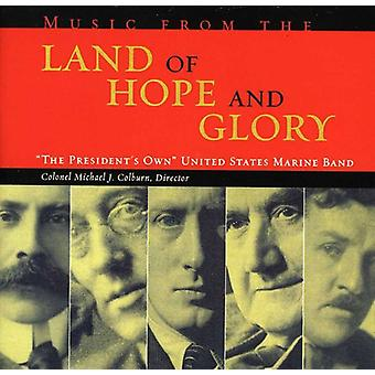 U.S. Marine Band - Music From the Land of Hope and Glory [CD] USA import
