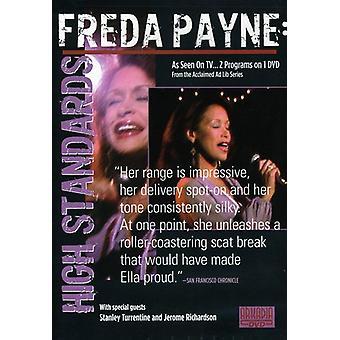 Freda Payne - High Standards [DVD] USA import