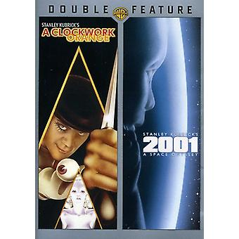 Clockwork Orange/2001: A Space Odyssey [DVD] USA import