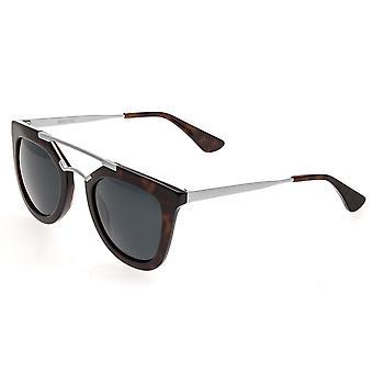 Bertha Ella Polarized Sunglasses - Black/Black