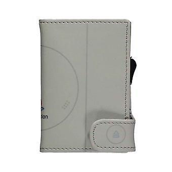 Playstation Card Wallet ID Console Logo nouveau Joueur officiel Gris