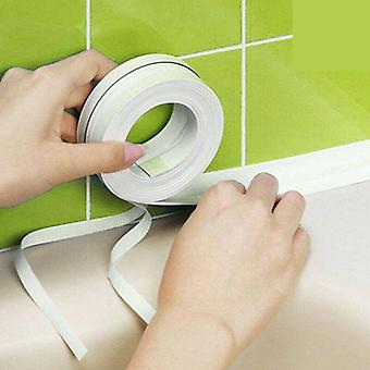Bathroom Shower Sink, Bath Sealing Strip Tape - Self Adhesive Waterproof