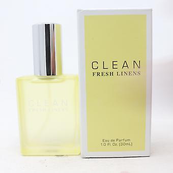 Čerstvé prádlo od Clean Eau De Parfum 1oz/30ml Spray New With Box