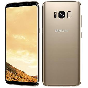 Samsung S8+ 64GB gold smartphone Single Card