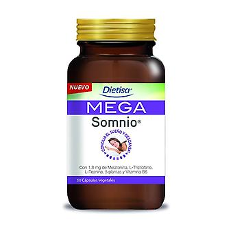 Mega Somnio 60 vegetable capsules