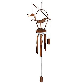 Something Different Nodding Duck Bamboo Windchime