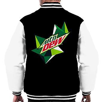 Mountain Dew original logo menn ' s Varsity Jacket