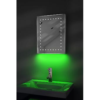 Ultra-Schlanker Spiegel mit UnderLighting, Bluetooth, Demist&Sensor k162waud