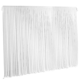 Wedding Backdrop White Curtain Drape