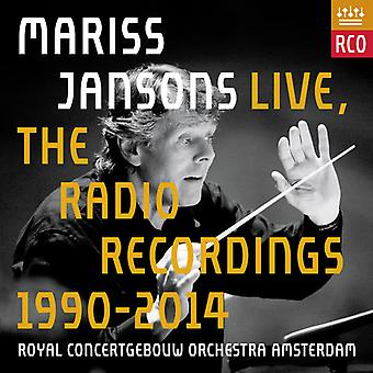 Jansons / Royal Concertgebouw Orchestra - Mariss Jansons Live - Radio Recordings 1990-2014 [CD] USA import