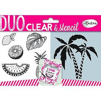 Aladine Duo tyhjennä postimerkit &; Kaavaimen viidakko