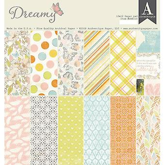 Authentique Dreamy 12x12 pulgadas de papel Pad