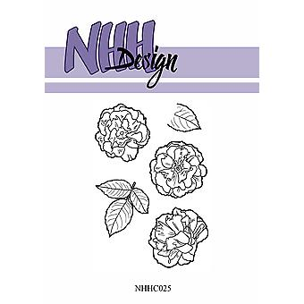 NHH Design Flower 3 Clear Stamps