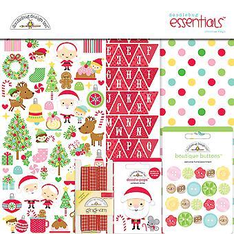 Doodlebug Design Christmas Magic 12x12 Inch Essentials Kit