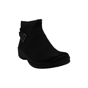 Merrell Women's Shoes Encore Mid Boot Faux Fur Closed Toe Ankle Fashion Boots