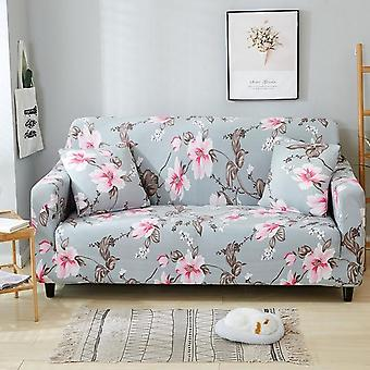 Nodal Floral Print Stretch Elastic Anti Dust Slip-resistant Sofa Cover